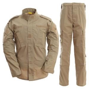 Khaki color military uniform