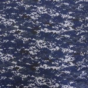 Dark blue military fabric