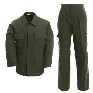 Army green uniform