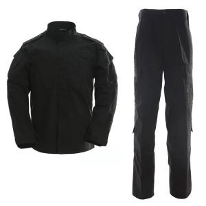 Military uniform black