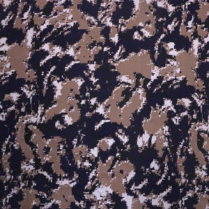 Factory camouflage canvas fabric