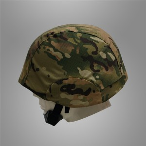 Multicam helmet cover