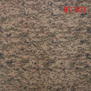China factory camo ripstop fabric