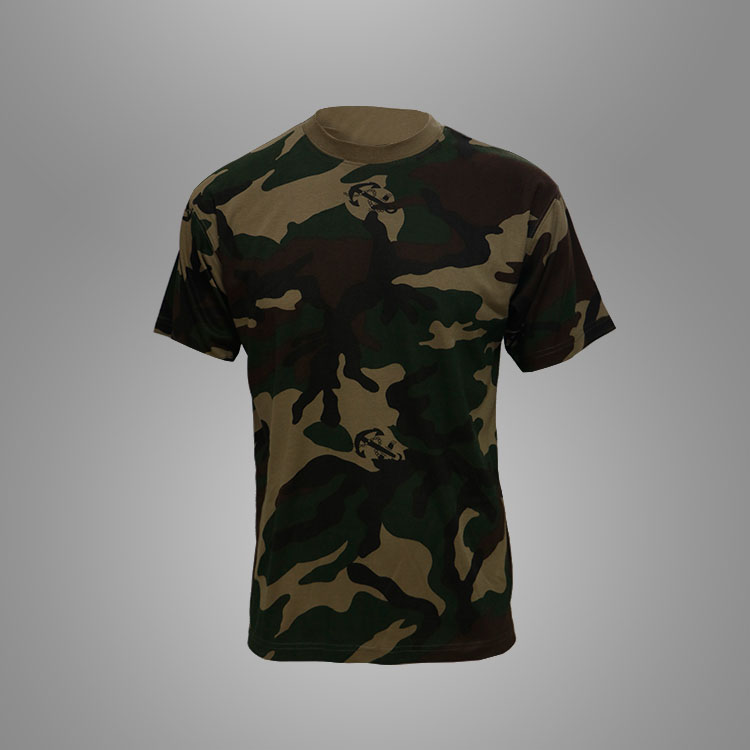 Army kamp t-shirt Featured Billede