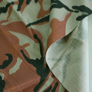 Pink ripstop camouflage fabric for Oman military