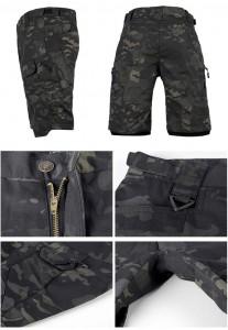 Multicam Black tactical short pants