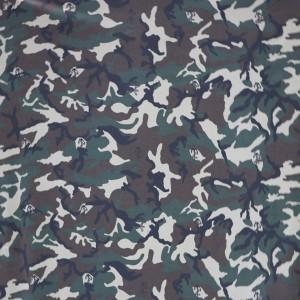 Military T-shirt fabric