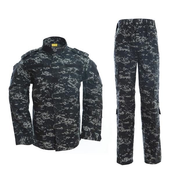 Dark blue ACU military uniform Featured Image