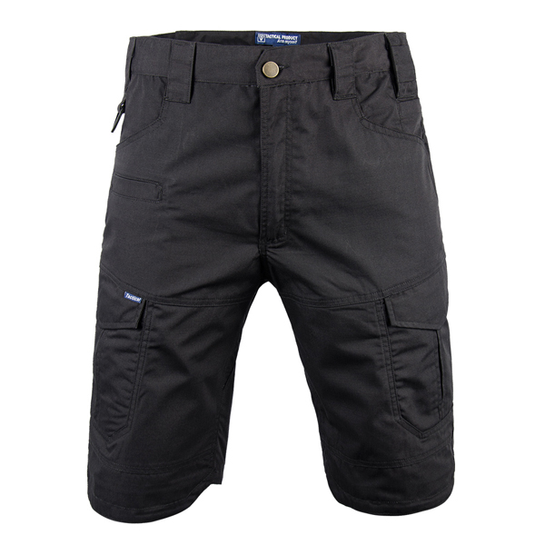 Black color tactical short pants Featured Image
