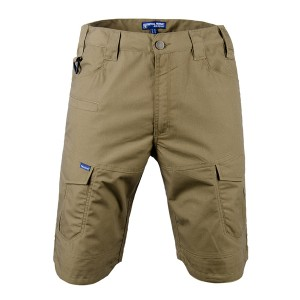 Khaki color tactical short pants