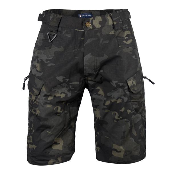 Multicam Black tactical short pants Featured Image