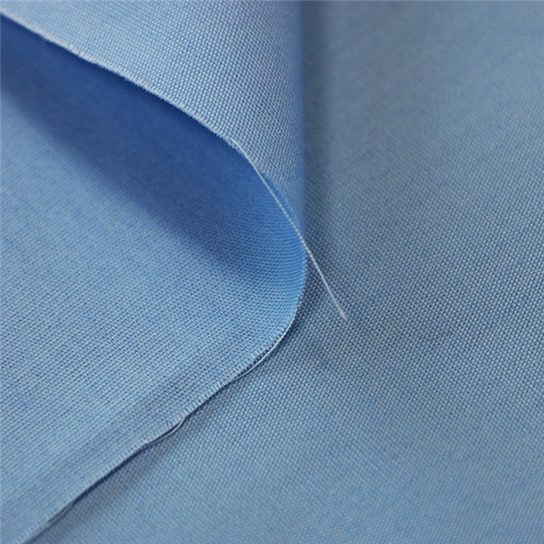 Polyester cotton poplin gend shirting fabric Featured Image