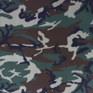 High quality CVC printing camouflage fabric for military uniform
