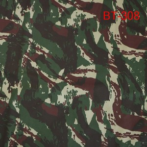 Manufacturers t/c 65/35 camouflage fabric