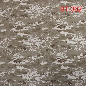Wholesale camouflage printed ribstop fabric