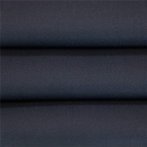 60 Wool 40 Polyester dark navy blauwe plysje unifoarm fabric