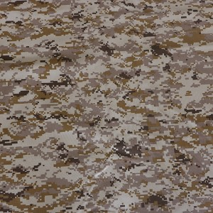 Factory TR desert camo fabric