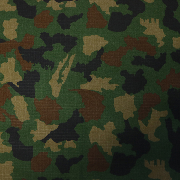 Indian army military woodland ripstop camouflage fabric Featured Image