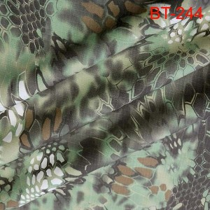 Fashion kryptek camouflage fabric