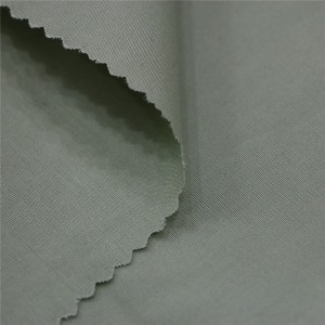 Polyester cotan poplin shirting fabric