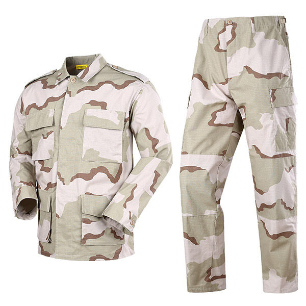 Desert rip stop camo BDU army uniform Featured Image