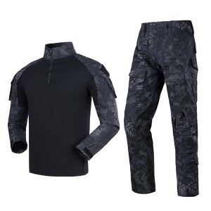 Outdoor mens kryptek camouflage unifoarm
