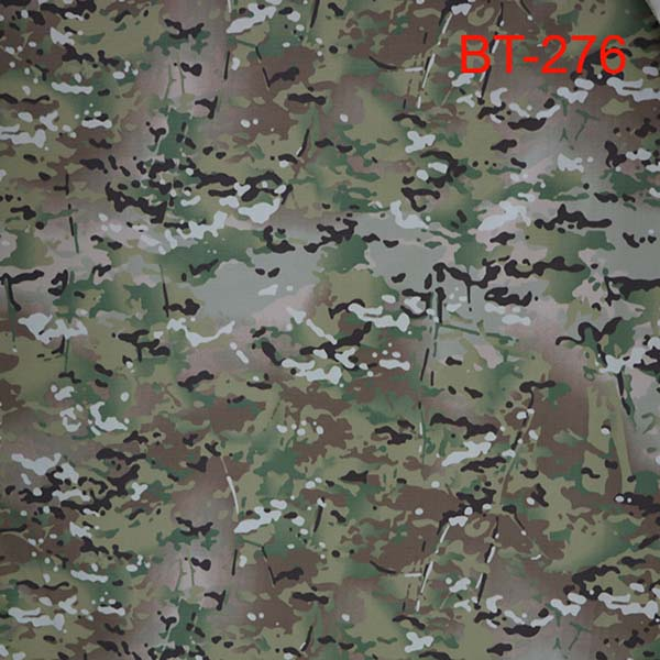 Nylon cotton multicam camo ripstop fabric Featured Image