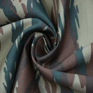 Greek woodland camouflage fabric