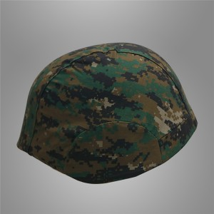 Army camo helmet cover
