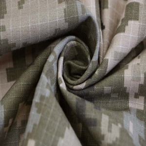 Urkaine camouflage fabric for border guard