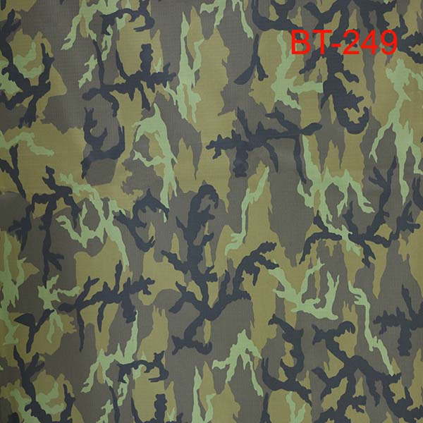 Anti-infrared ripstop camouflage fabric for Czech military Featured Image