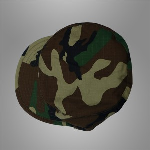 Cheap military woodland soldier cap