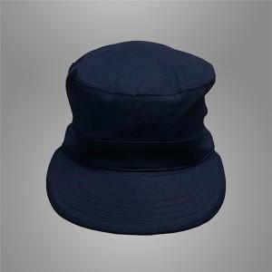 Dark navy blue security guard cap