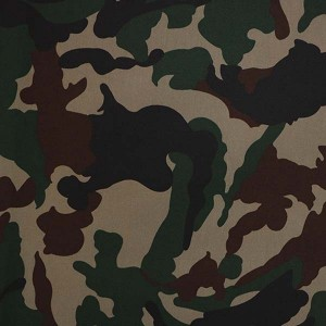 Nepal army camouflage fabric