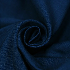 Dark navy blue ripstop security guard fabric for police uniform