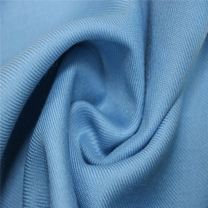 45%Wool 55%polyester twill fabric for casual suits