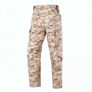 Desert camo military jacket