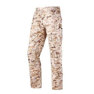 Digital desert camo breathable tactical training uniform