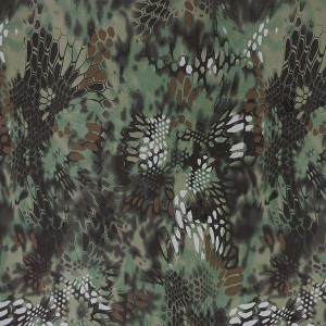 Fashion kryptek camouflage fabric