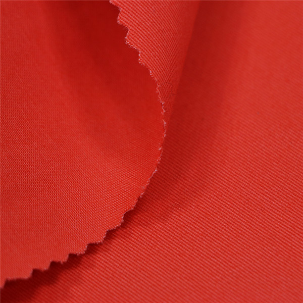 Orange color security guard drill fabric Featured Image
