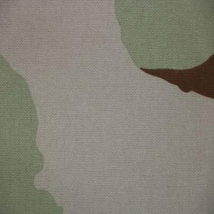 3-Colour desert camouflage fabric
