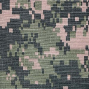 Border guard camouflage fabric for Uzbekistan