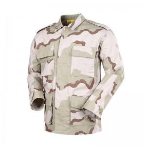 Desert rip stop camo BDU army uniform