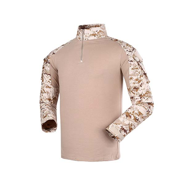 Digital desert camo breathable tactical training uniform Featured Image