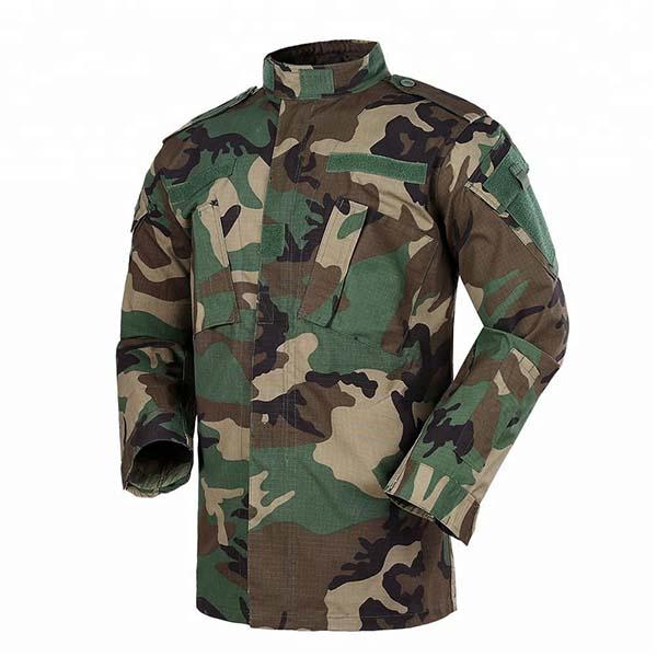 Woodland ripstop camo ACU army combat uniform - China Shaoxing Baite