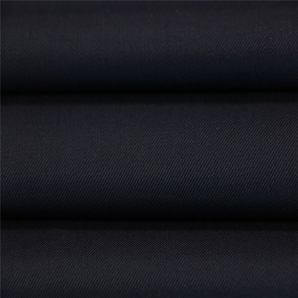 45%Wool 55%Polyester black serge military office uniform fabric Featured Image