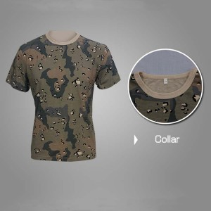 Military camo T-shirt