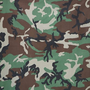 Army fabric with pigment printing for Moldova