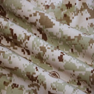 Nylon cotton ripstop army camo material of Saudi Arabian military