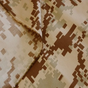 Desert digital fabric for Middle east military